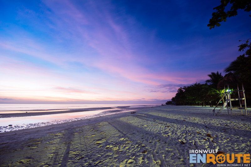 Dawn at the Quinale Beach
