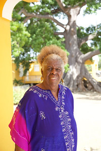 4  Lady Ruby Bute in St. Martin, wonderful artist at The Silk Cotton Grove Art Gallery