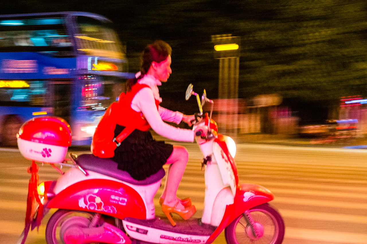 Scooter Commutin'