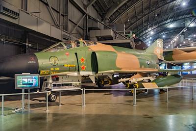Vietnam era F4 fighter.