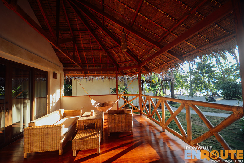 Each villa and bungalow have their private balconies