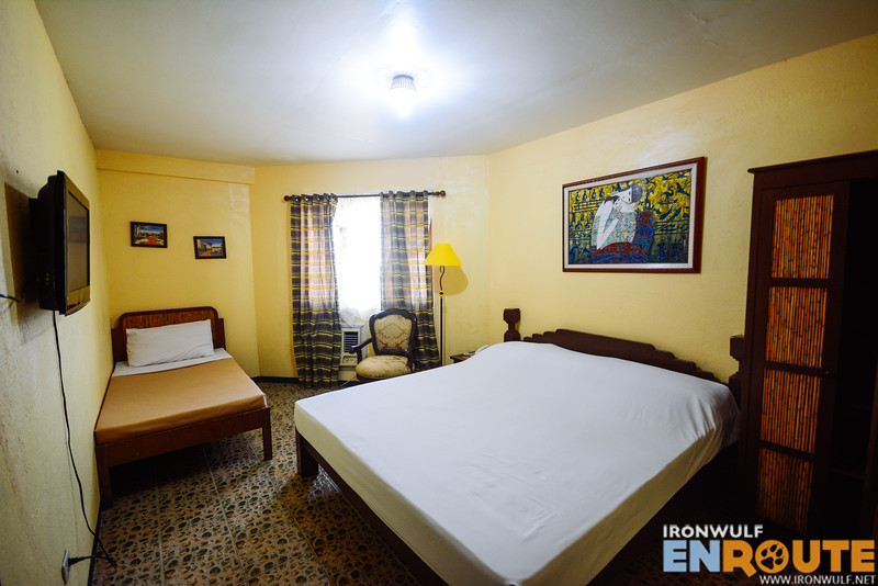 One of the room at the 2-bedroom family suite
