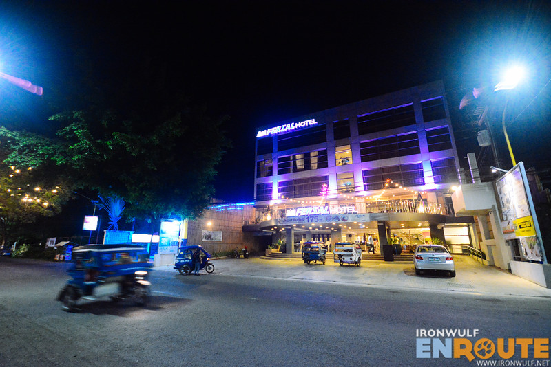 The hotel along Rizal Avenue extension