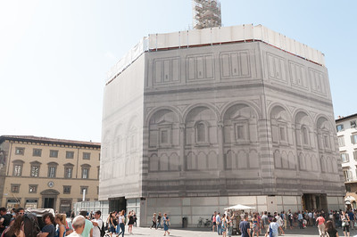 Battistero (under renovation), next to Duomo - Florence