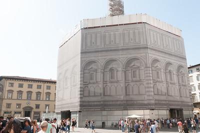 Battistero (under renovation), next to Duomo - Florence