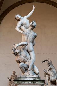 Statues of Piazza della Signoria - Florence