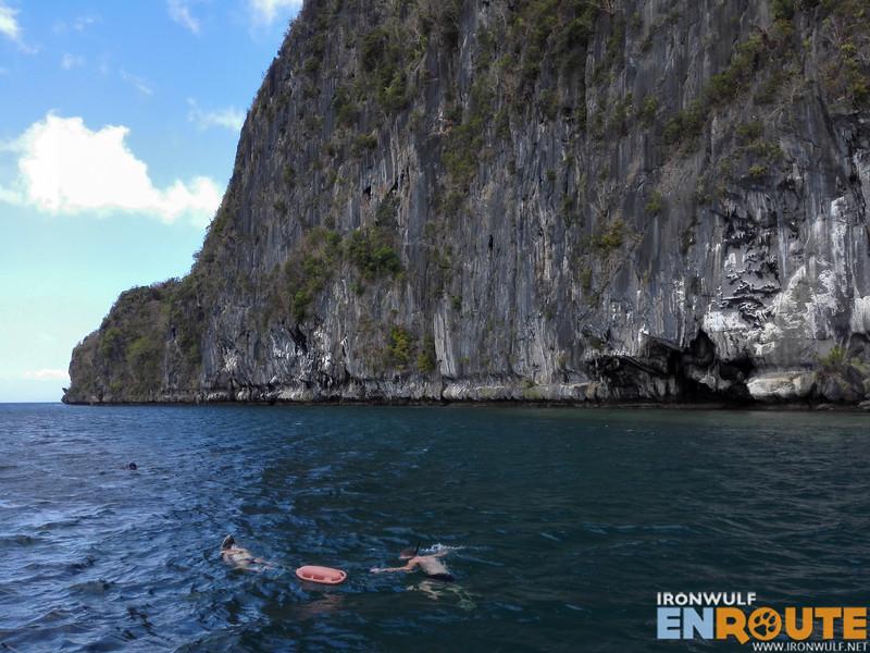 Snorkeling at Imorgie Island