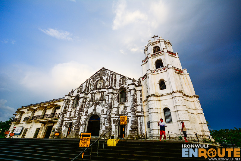 Facade of Nuestra Señora de la Porteria Parish Church