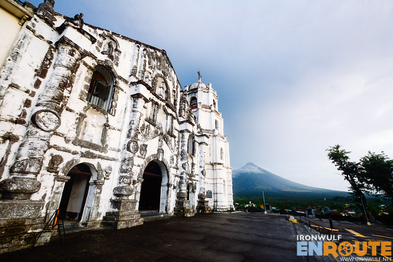 Mt Mayon seen from Daraga Albay