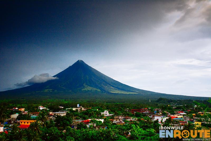 Mt Mayon overlooking Albay