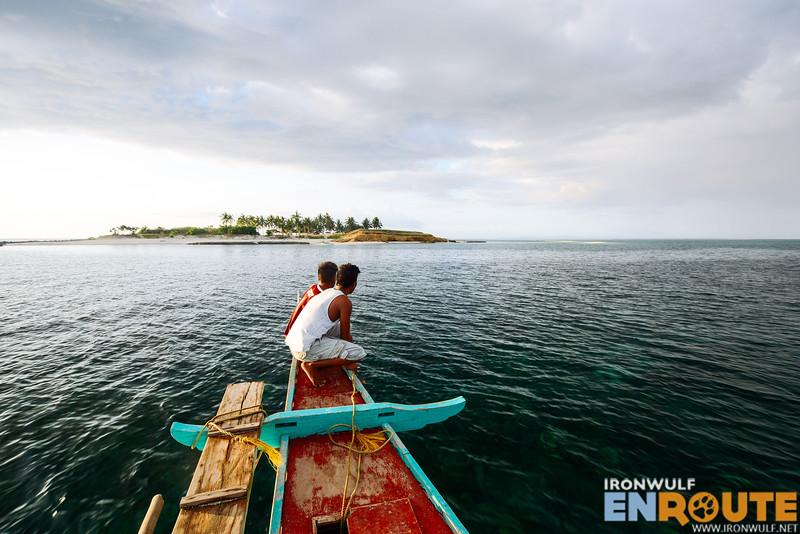 Tinalisayan Islet from afar