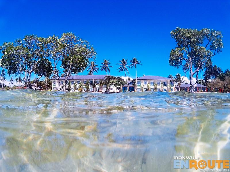 High tide at Emerald Beach