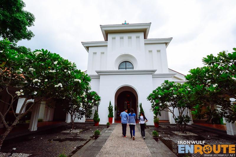 Nearby San Anton de Padua church