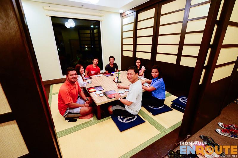 Dining at Umenoya