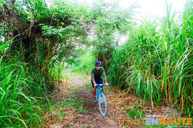We found a nice bike trail in Nuvali