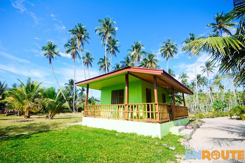 Where I stayed at Calitang Pearl Lodge