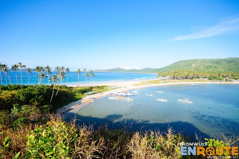 Where the twin beaches meet