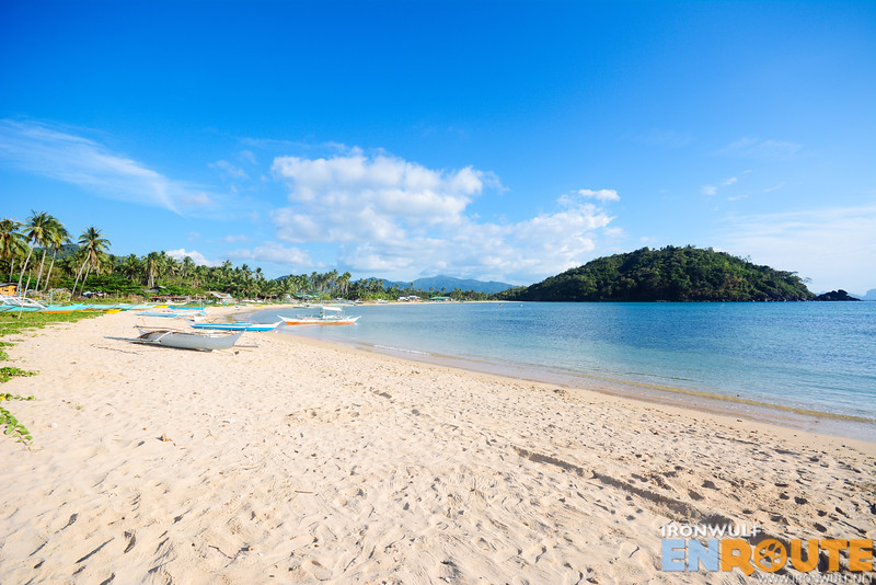 Calitang Beach stretch