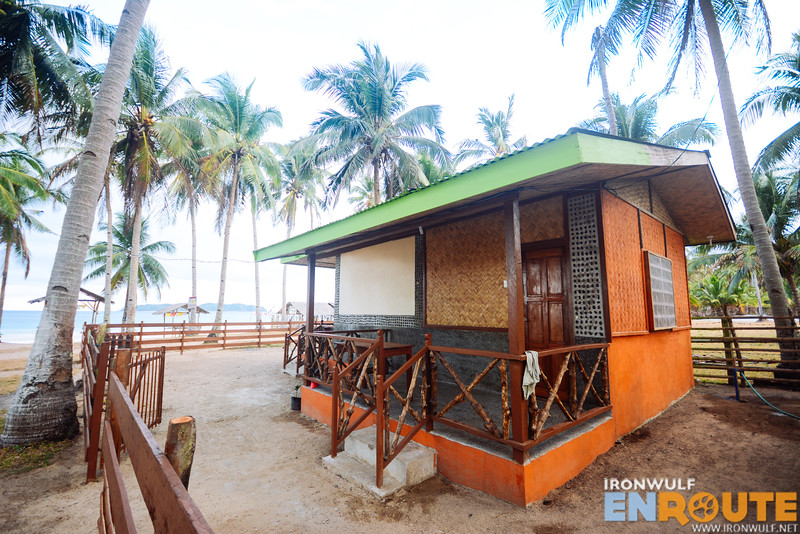 The Calitang Peal room extension at Nacpan Beach