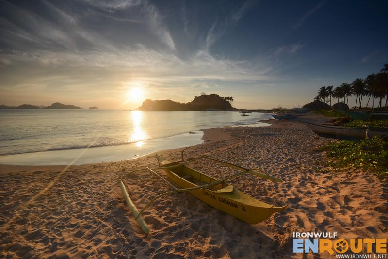 Sunset at Calitang Beach