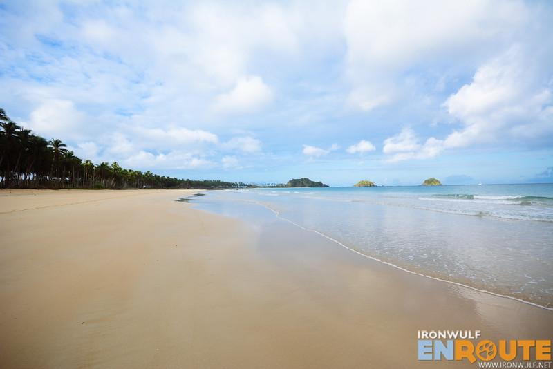 Nacpan Beach without the tourist