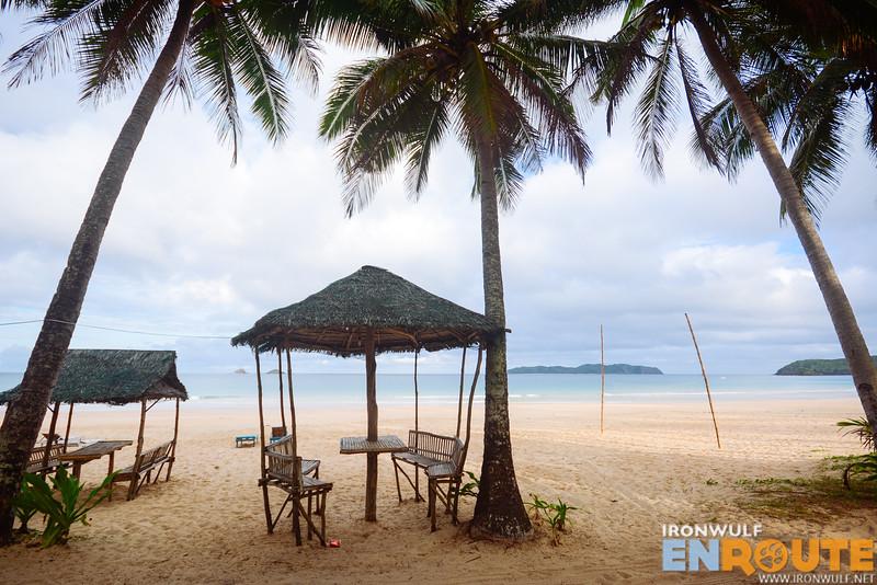 Beach Huts for customer use