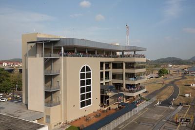 Panama Canal Transit on the Veendam; Miraflores Visitor's Center