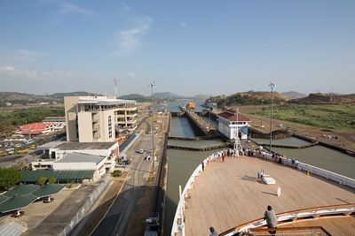 Panama Canal Transit on the Veendam;