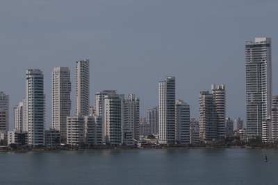 Catagena, Colombia: High-rises everywhere