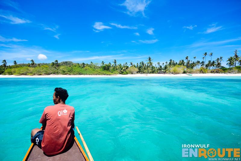 Approaching the larger Mausonoan Island