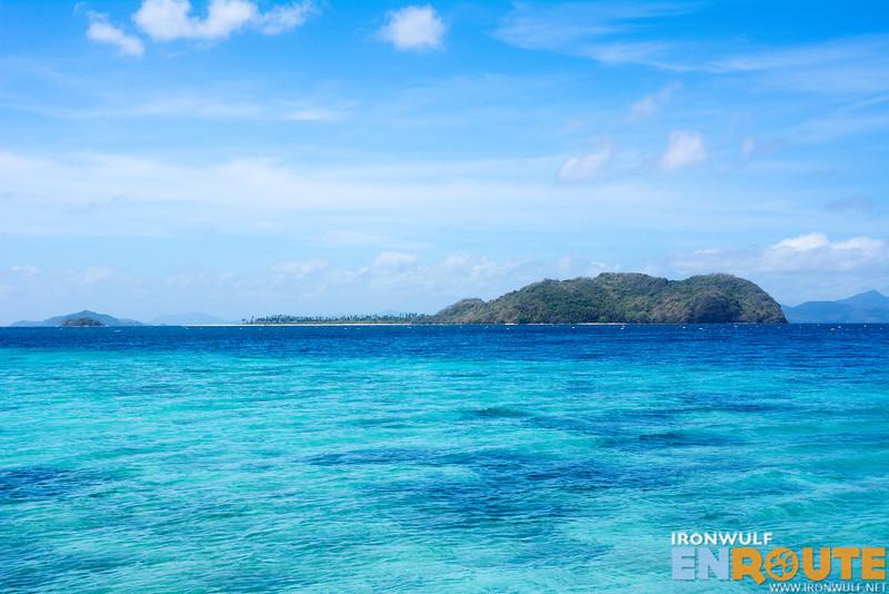 View of nearby Mausonoan Island