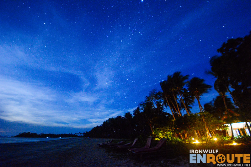Star gazing is a favorite activity with little light pollution in the area