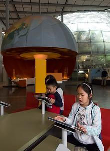 Earth exhibit, California Academy of Sciences
