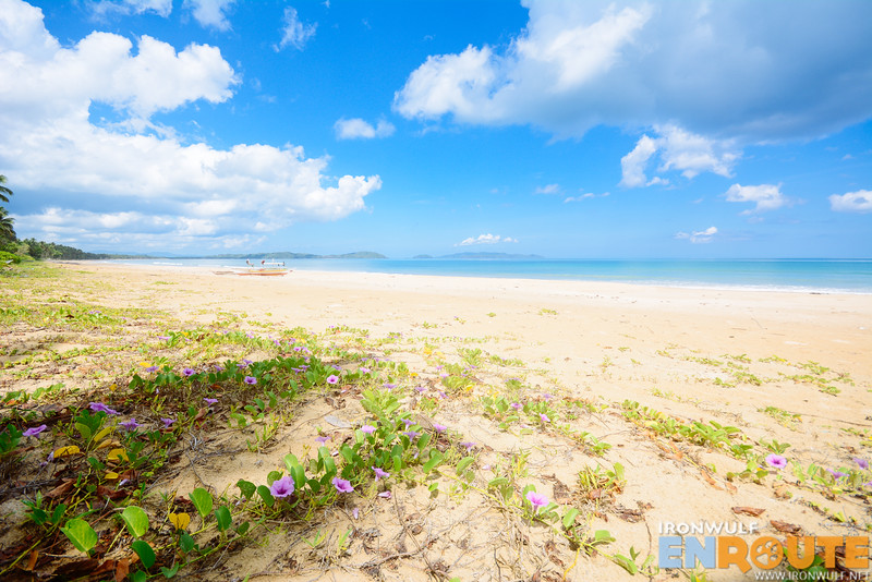 JuRiSu Resort can enjoy the pristine part of the long beach only steps away