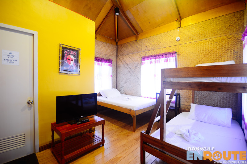 Inside the Premium Traditional Huts
