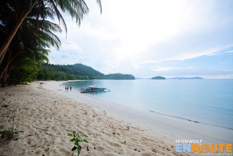 Unnamed beach on the mainland