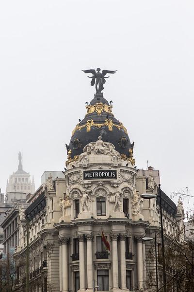 Metropolis Building, Madrid