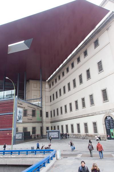 La Reina Sofia Museum, Madrid