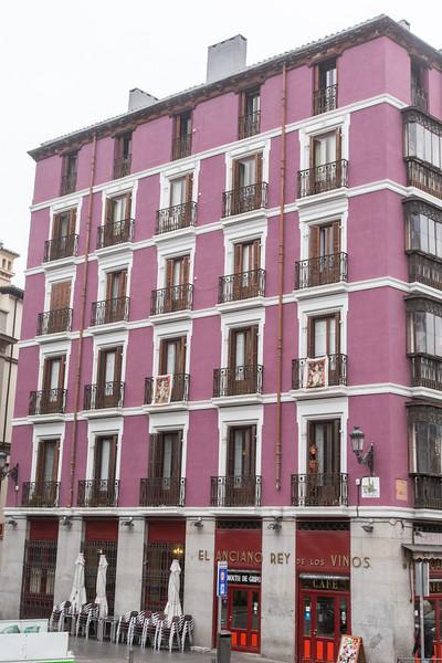 Across from Palacio Royal, Madrid