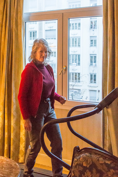 Treadmill In Room, Westin Palace