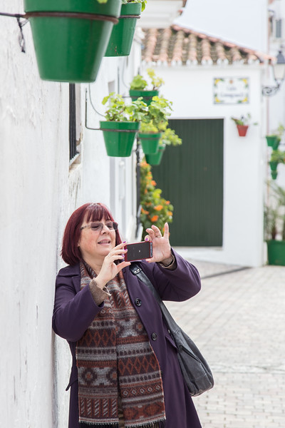 Liliana in Old Town, Estepona