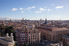 Madrid From Top of Almudena Cathedral