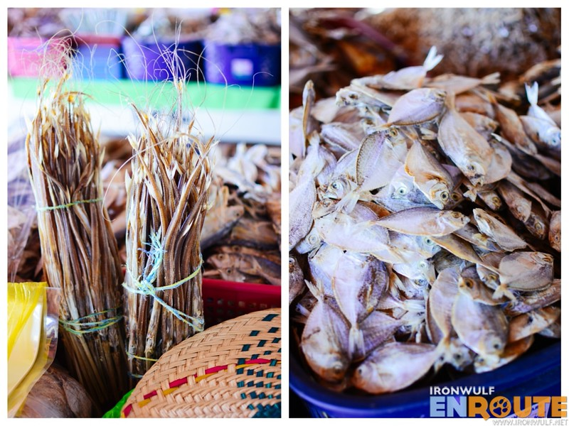 More variety of dried fishes