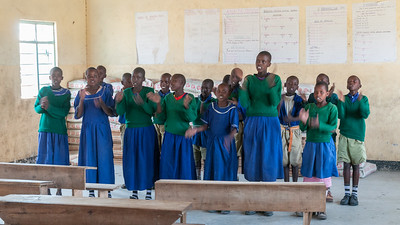 Community school near Enashiva reserve, Tanzania.