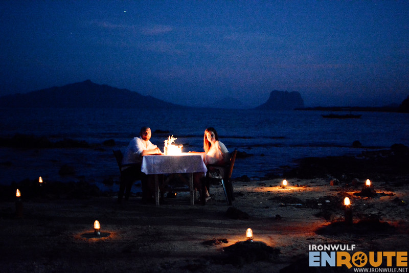 A romantic set-up for couples