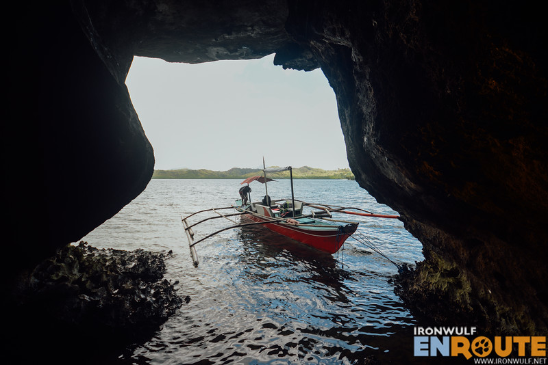 Cave stop on the island for our lunch