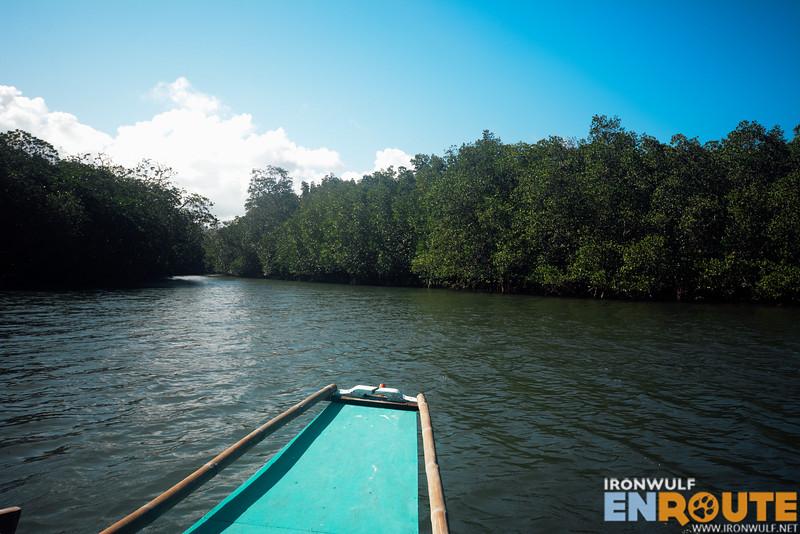 Entering the Dewil River
