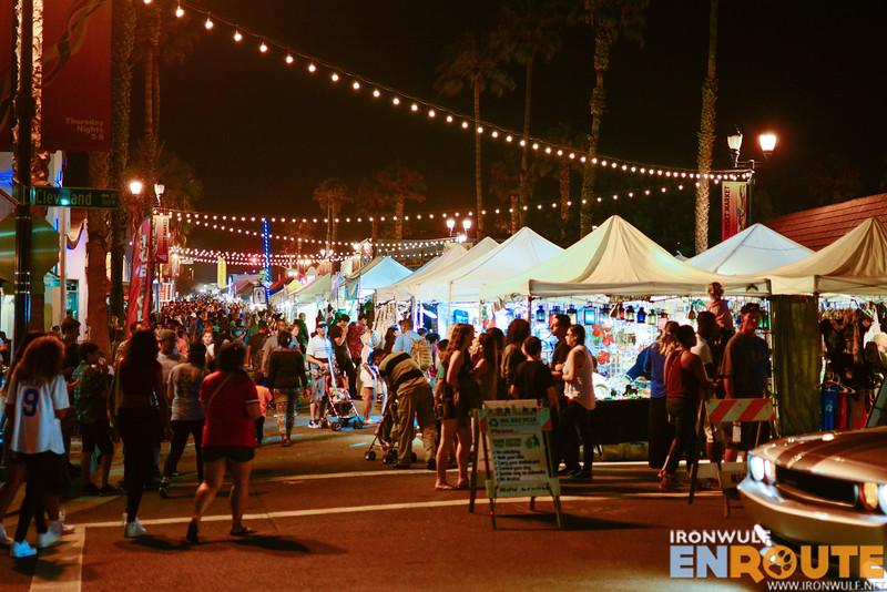 Bustling night market