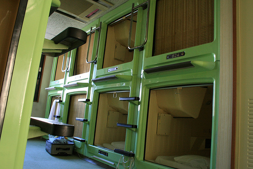 Unusual Hotels Around The World Capsule Inn Toyko Japan