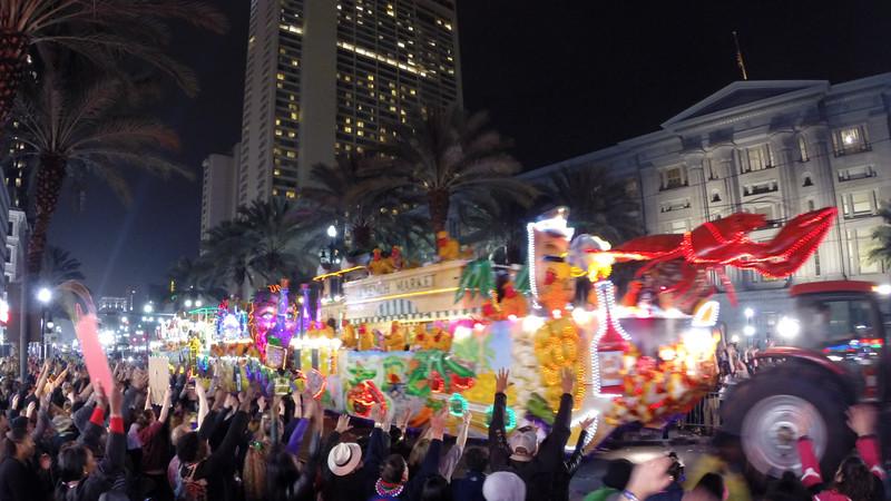 Krewe of Bacchus Parade